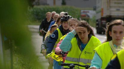 School laat leerlingen fietstraject nu al oefenen
