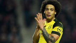 Koploper Dortmund voelt hete adem van Bayern in nek: Witsel en co laten punten liggen bij hekkensluiter