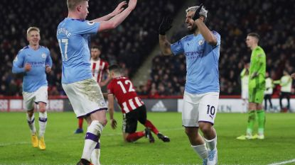 Kevin De Bruyne schenkt City met piekfijne assist overwinning op het veld van Sheffield