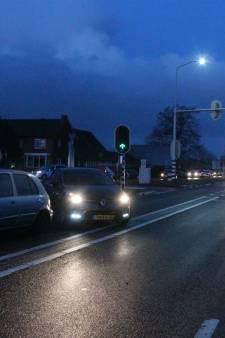 Zeker een gewonde bij ongeval N35 Wierden