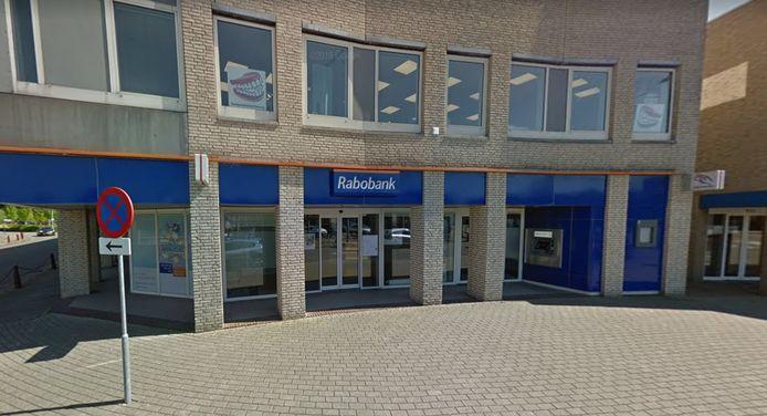 Vestiging van Rabobank aan Raadhuisplein in Nieuwerkerk aan den IJssel.