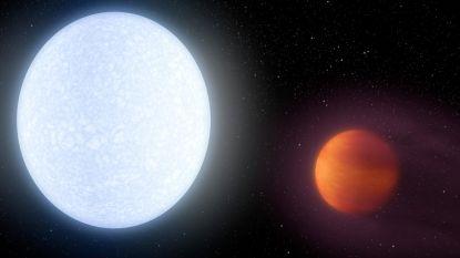 KELT-9b: de planeet waar elke 9 uur een nieuw seizoen aanbreekt