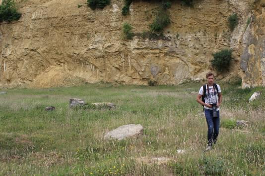 De kreeft werd ontdekt door biologiestudent Brian Pater.