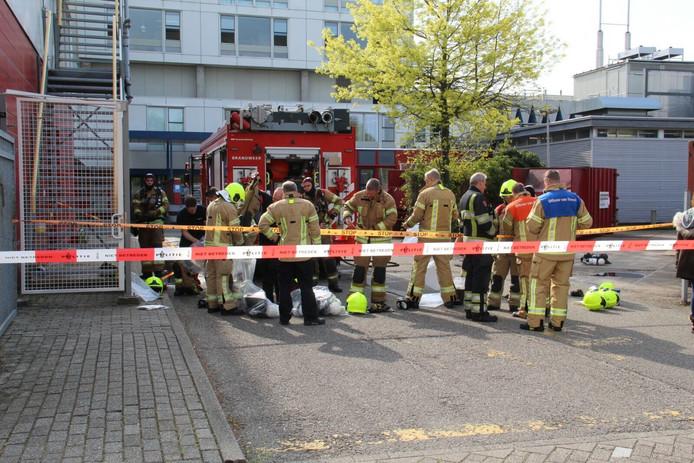 In het IJsselland Ziekenhuis in Capelle aan den IJssel werd in mei perazijnzuur  rond gesprenkeld.