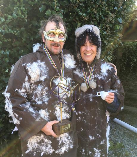 John en Hannie winnen de Ronde van het Rutselbos
