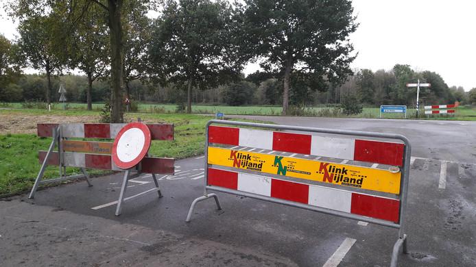 De wegen in Zeewolde zijn afgezet vanwege de zoektocht naar Anne Faber.