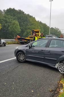 Gewonde bij ongeluk op A58 bij Moergestel