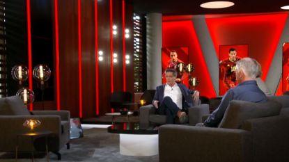 """Stef Wauters toont z'n gloednieuwe studio voor de matchen van de Rode Duivels: """"Een studio is het eigenlijk niet, het is meer een living"""""""