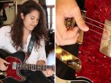 Zowie (16), dochter van gitaarbouwer Sjak Zwier, bouwt zelf een topgitaar