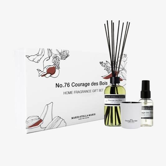 Tout pour parfumer votre intérieur. Prix: 69 euros. Disponible chez Senteurs d'Ailleurs.