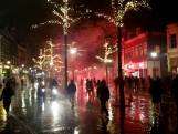 Rellen in Zwolle: ME grijpt in, relschoppers gevloerd
