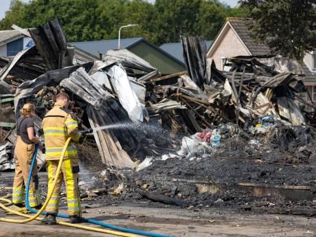 Gemeente Staphorst: 'Toch geen gevaarlijke stoffen vrijgekomen bij brand'