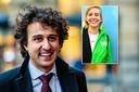 GroenLinks-leider Jesse Klaver, inzet: Jantine Röttgering