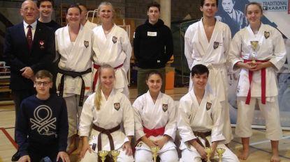 Sterk Taisho Lede scoort medailles tijdens BK karate in Braine L'alleud