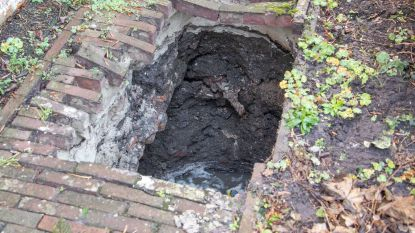 Vrouw (70) verdwijnt in zinkgat van vier meter diep