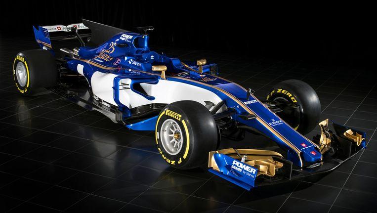De 2017-auto van Sauber Beeld Sauber
