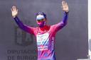 Remco Evenepoel in de Ronde van Burgos.