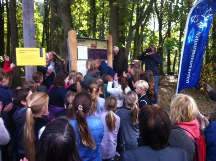 Opening wandelroute Plantloon Waalwijk.