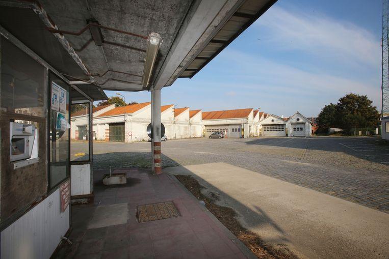 De oude stelplaats van De Lijn in Assebroek.