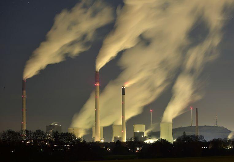 Om in 2050 de uitstoot terug te brengen tot nul, zouden de klimaatinvesteringen 25 procent moeten uitmaken van de totale investeringen. Beeld AP