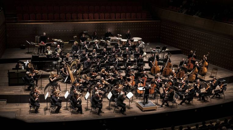 Archiefbeeld Antwerp Symphony Orchestra.