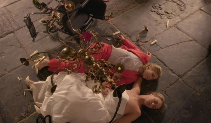 De rol van Sarah Chronis eindigde direct in een drama.