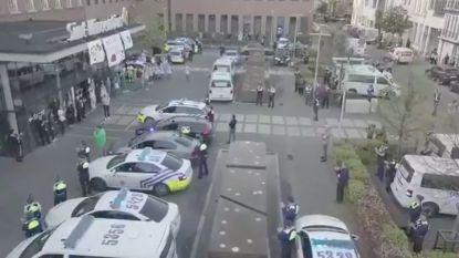 Antwerpse politie steekt zorgverleners Sint-Vincentius een blauw hart onder de riem