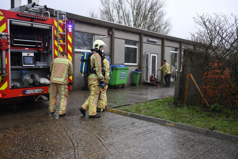 Brand in keuken van school De Bron in Leuven