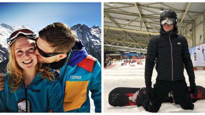 SHOWBITS. Broer en zus Cleymans in de bergen en Sven Nys op het snowboard