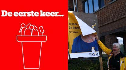 """VIDEO. """"De gemeenteraad, dat zie ik wel zitten"""", Yvonne (oma van Marthe van K3) maakt zich klaar voor 14 oktober"""