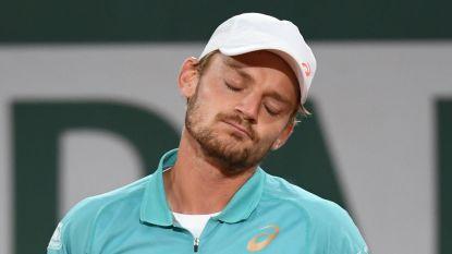 David Goffin krijgt pak slaag van jonge Italiaan en moet al na één ronde Roland Garros verlaten
