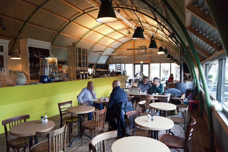 Café Polder in Science Park Beeld Roï Shiratski