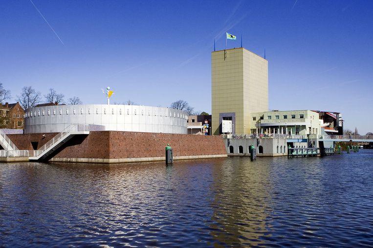 Het Groninger Museum. Beeld ANP