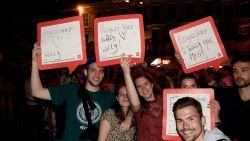 Sint-Baafsplein kleurt 'HLN' tijdens Willy Sommers