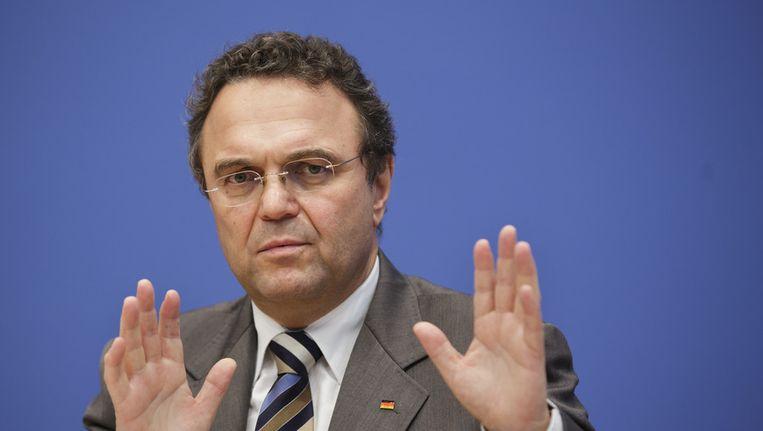 De Duitse minister Hans-Peter Friedrich van Landbouw. Beeld getty