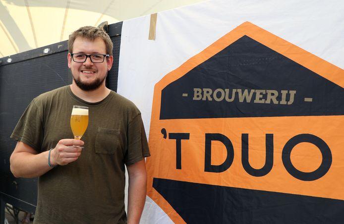 Willem Uytterhoeven van brouwerij 't Duo was één van de standhouders