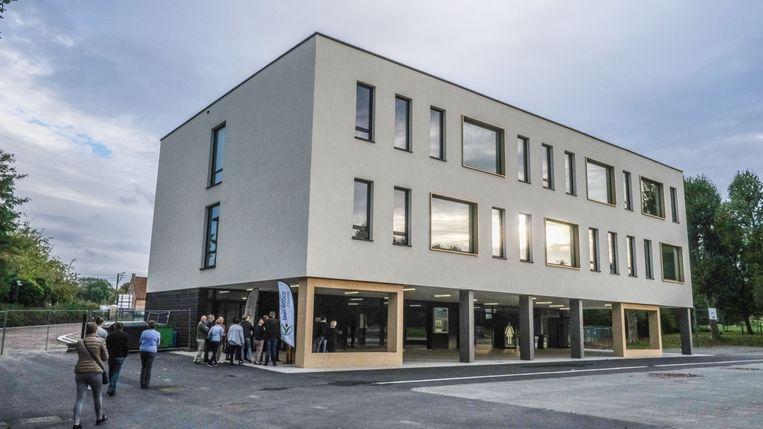 De nieuwbouw van het Don Boscocollege.