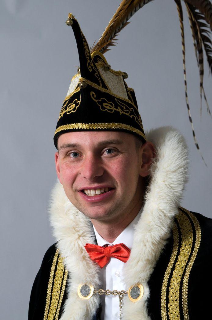 Prins Stef d'n Urste van Bremspoersengat.