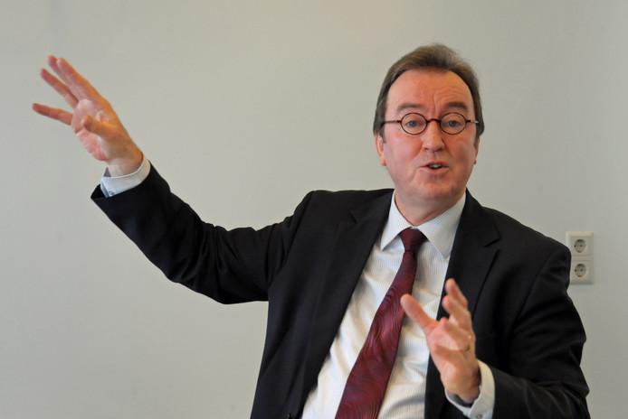 Burgemeester Jan Lonink.