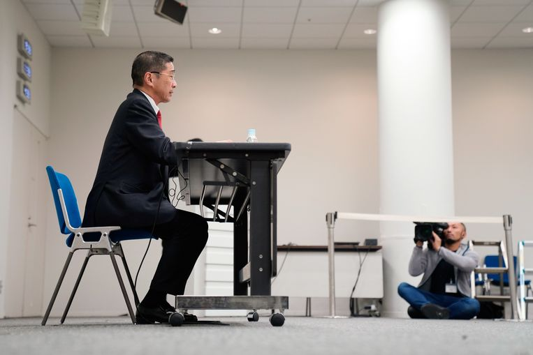 Nissan-ceo Hiroto Saikawa. Beeld EPA