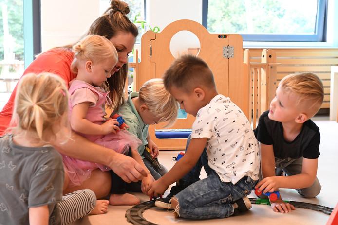 Kinderopvang Kukel met leidster Brenda Derks.