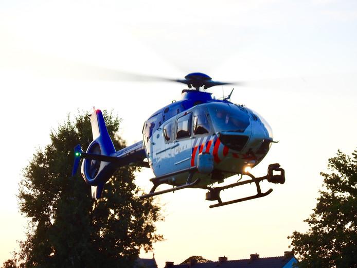 Stock politiehelikopter