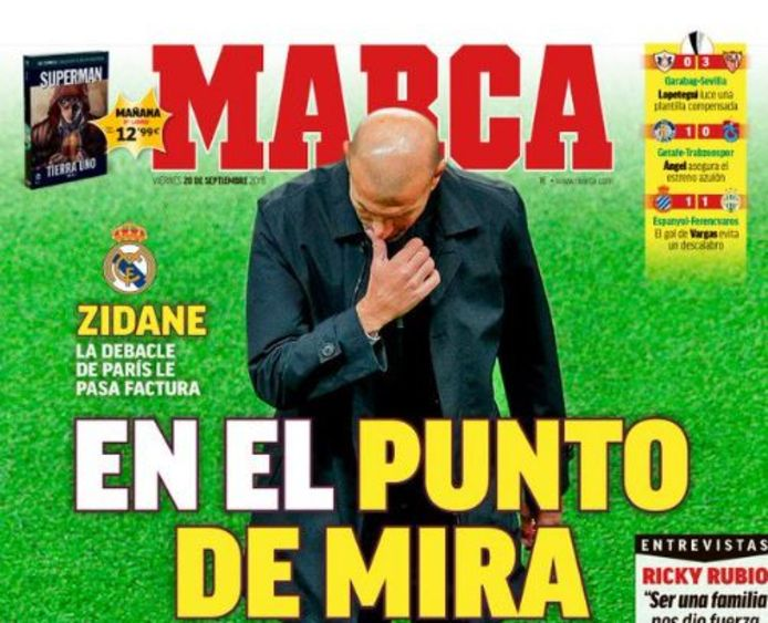 """Zidane """"dans la ligne de mire"""""""