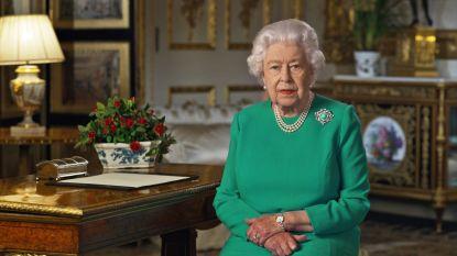 """Queen Elizabeth steekt Britten hart onder de riem: """"We zullen deze crisis overwinnen"""""""