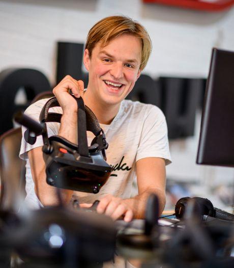 Hengeloër Jordi (27) laat je virtueel roeien of een orkest dirigeren: 'Hij is een voorloper'