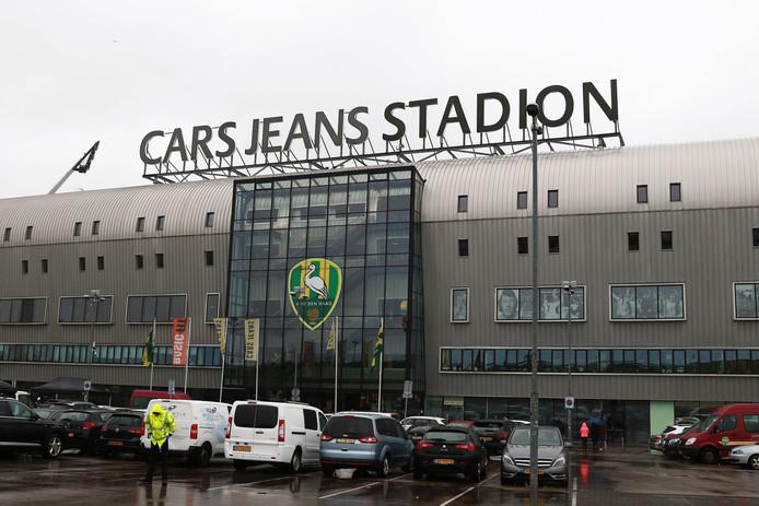 Het Cars Jans Stadion van ADO Den Haag.