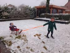 Oost-Nederland wordt wakker in besneeuwde wereld (en dat levert déze mooie foto's op)
