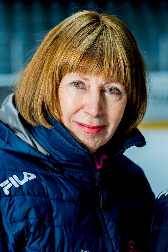 Voormalig kunstschaatsster Joan Haanappel woont al jaren in Frankrijk.