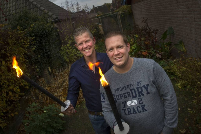 Fred van de Huijgevoort (l) en Job van der Velden.