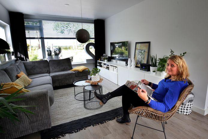 Er is al heel erg veel verbouwd in de voormalige huisartsenpraktijk, maar Sandra  Huisman en haar man zijn nog steeds bezig.